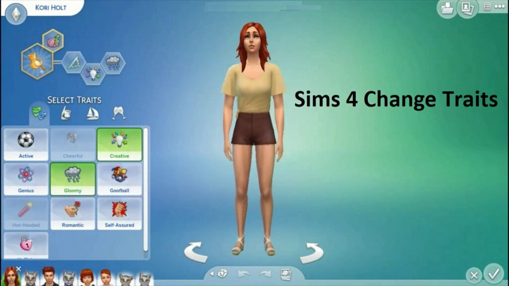 Change Traits In The Sims 4